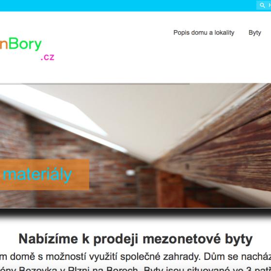 Web bytyplzenbory.cz